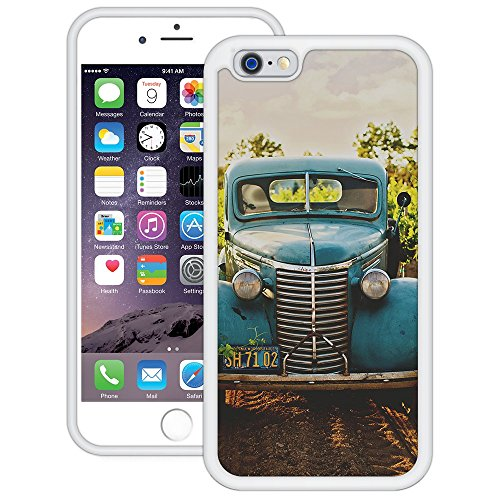 Oldtimer | Handgefertigt | iPhone 6 6s (4,7') | Weiß Hülle