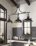 Joella Bronze Color Casual Metal Pendant Light (1/CN)