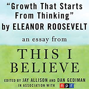 Growth That Starts from Thinking Audiobook