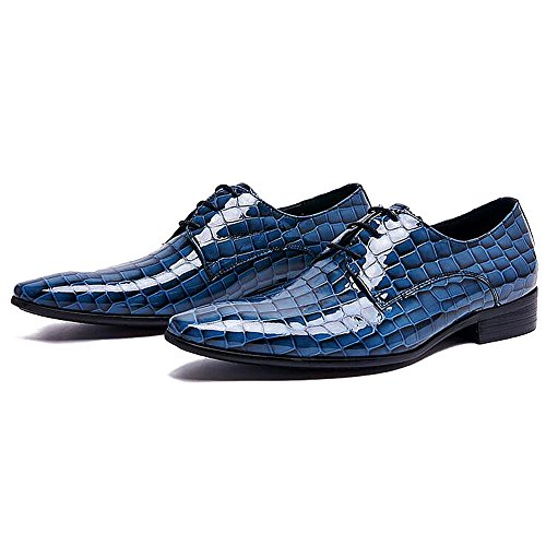 Scarpe Da Uomo Per Il Tempo Libero In Pelle Tendine Dress Autunno Business Wedding Moda Slip On Nero Blu