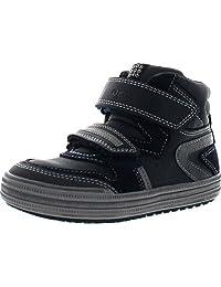 Geox Boys Jr Elvis High Top Casual Sneakers