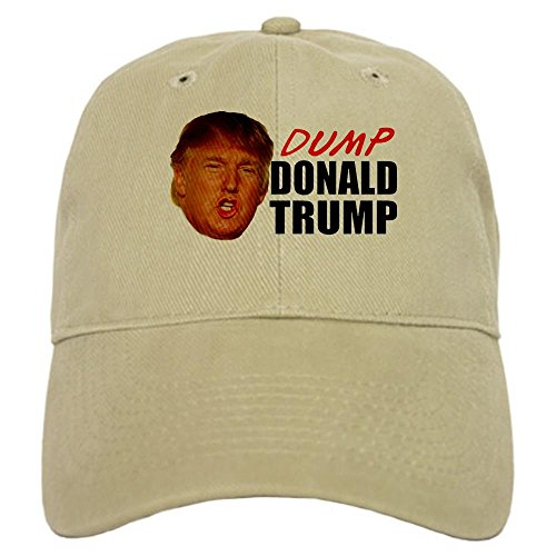 CafePress - Dump Donald Trump Cap - Baseball Cap Adjustable Closure, Unique Printed Baseball Hat