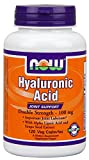Hyaluronic Acid 2X Plus Veg Capsules, 100 mg – 120 ct (Pack of 2) Review