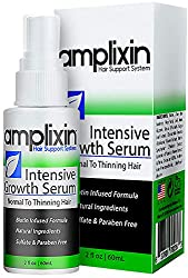 Amplixin Intensive Growth Serum is a natural, leave-in hair product that restores moisture and shine to the scalp and roots. Biotin infused formula adds volume and body to damaged follicles. Using the latest research, technology and natural botanical...