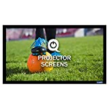 QualGear 92-Inch Fixed Frame Projector