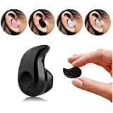 Newest CSBROTHER Smallest Wireless Invisible Bluetooth Mini Earphone Earbud Headset Headphone Support Hands-free Calling For iPhone Samsung Xiaomi Sony Lenovo HTC LG and Most Smartphone. (Black)