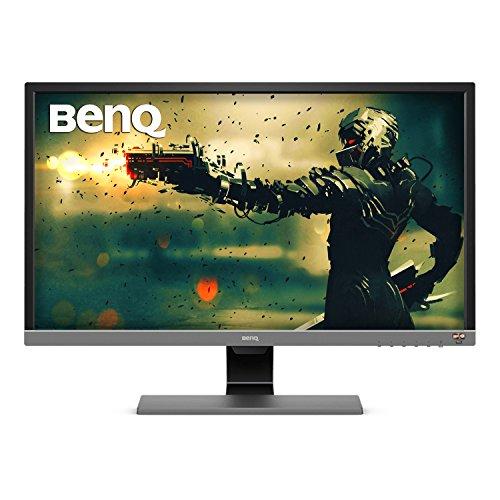 BenQ EL2870U 28 inch 4K HDR10 Gaming Monitor UHD 3840x2160 FreeSync 1ms Response Time Eye Care Brightness Intelligence Plus HDMI DP Built in Speakers