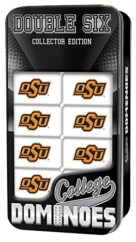 MasterPieces NCAA Oklahoma State Cowboys Double-Six Dominoes - Oklahoma State Game