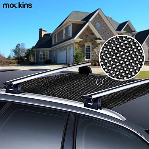 Mockins Protective Car Roof Mat for Any Car Roof Storge Cargo Bags with A Strong Grip and Extra Cushioning The Car Roof Pad Can Be Used On Your Car and SUV Or Truck