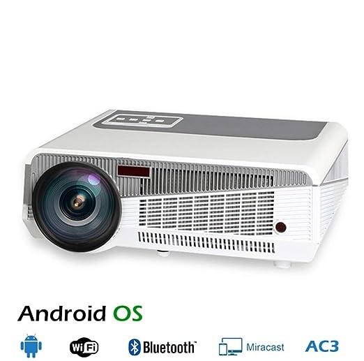 WF Proyector Full HD 3D para Android, Portátil 3000 Lúmenes 1080P ...