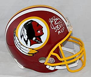 John Riggins Autographed Washington Redskins SB MVP F/S Helmet- JSA W Authenticated