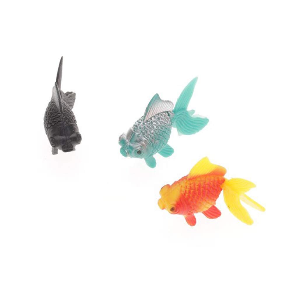 Yililay Realistas 5pcs Artificial de plástico Flotante Adorno de ...
