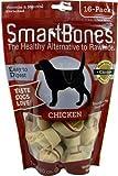 SmartBones Chicken Dog Chew, Mini, 16-Pack, My Pet Supplies