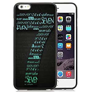 New Personalized Custom Designed For iPhone 6 Plus 5.5 Inch Phone Case For Creative Number Seven Phone Case Cover