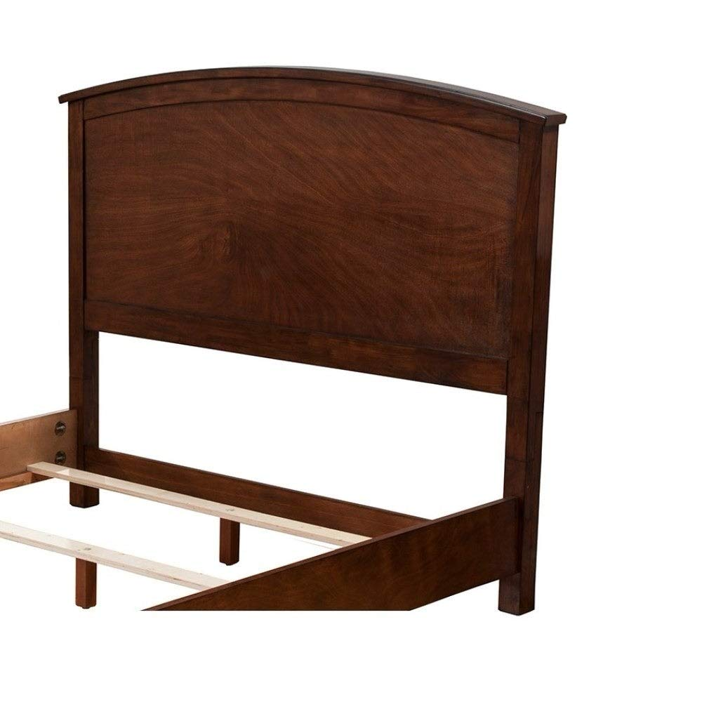 Mahogany Wood California King Headboard Only Brown Americana Finish by Unknown