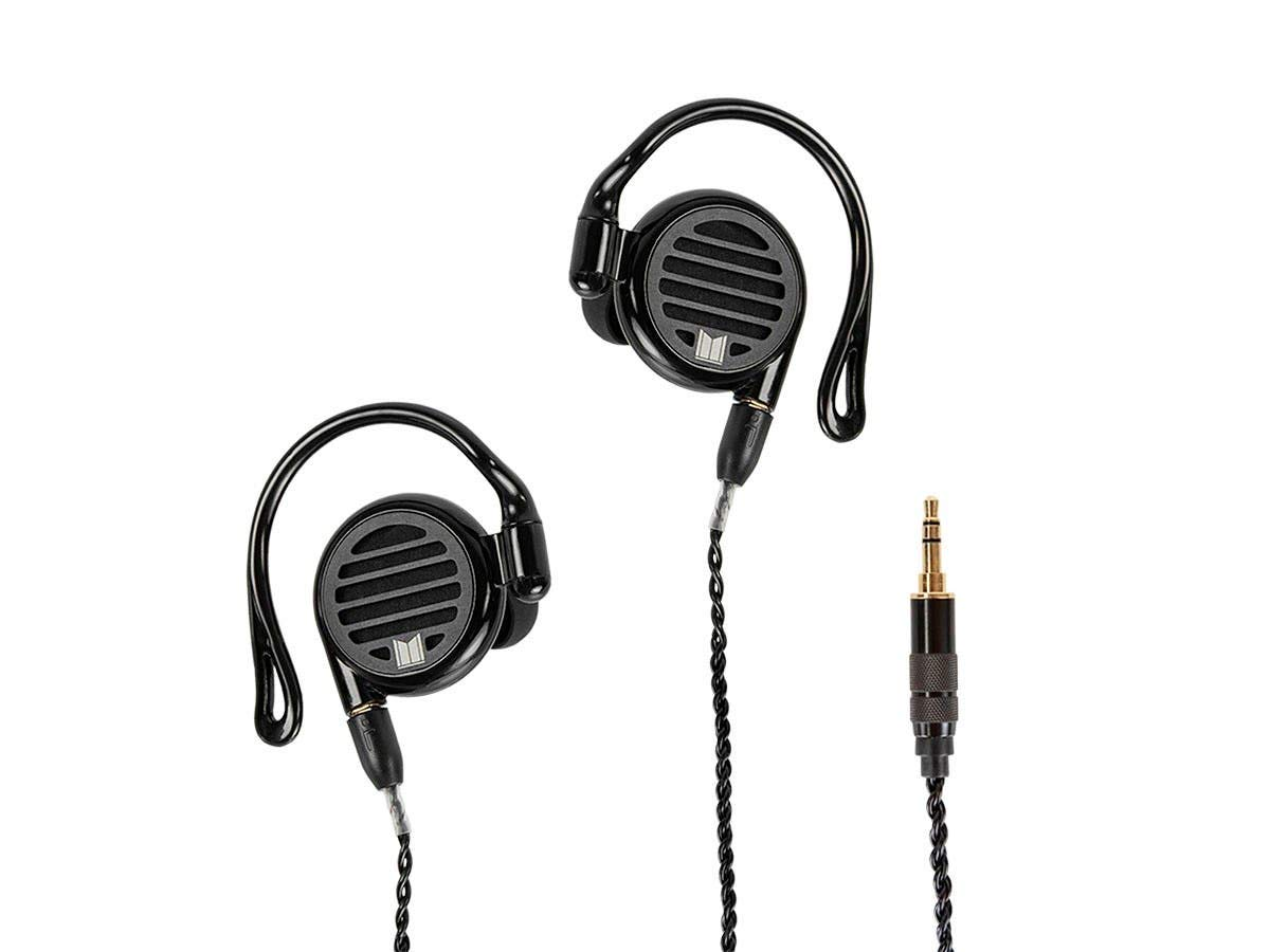 Monolith M350 in-Ear Planar Headphones, with Built-in Ear Hooks, Open Back Design, for Mobile Phones, Tablets, Laptops, or Video Game Controllers