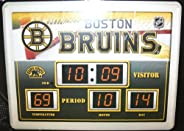 Boston Bruins Scoreboard Clock