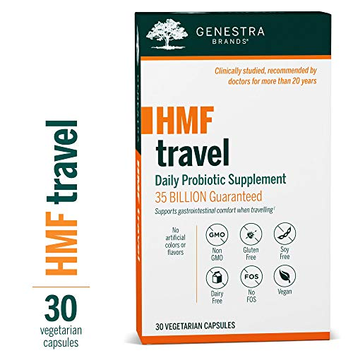 Genestra Brands - HMF Travel - Shelf Stable Probiotics to Support Gastrointestinal Health When Travelling
