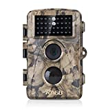 nature camera - [Upgraded] RAGU 12MP 720P Game Camera Trail Camera Infrared No Glow Night Vision 65ft Waterproof IP56 with 44pcs 940nm IR LEDs