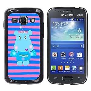 Dragon Case - FOR Samsung Galaxy Ace 3 - keep smile everyday - Caja protectora de pl??stico duro de la cubierta Dise?¡Ào Slim Fit