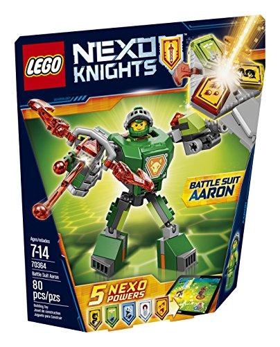 LEGO Nexo Knights Battle Suit Aaron 70364 Building Kit (80 Piece)]()