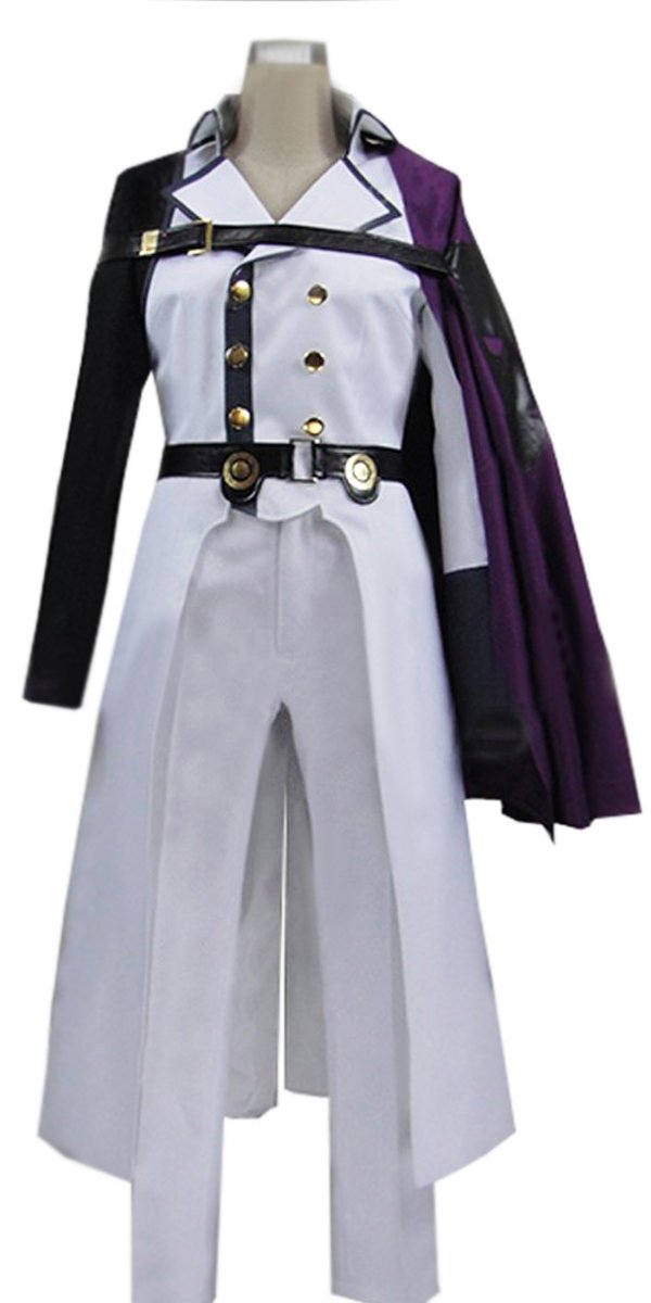 Onecos Anime Seraph of the End Crowley Eusford Cosplay Costume