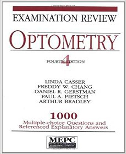 Optometry: Examination Review by Linda Casser (1-Mar-1994) Paperback