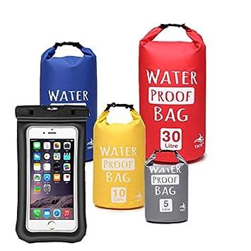 O RLY Dry Bag Bolsas estancas Impermeable Saco + IPX8 ...