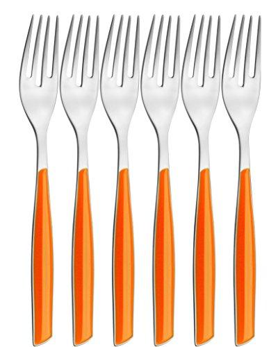 "BUGATTI - Flatware set 6 pcs. Table fork FRUT.""Glamour"" ORAN"