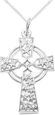 Cruz Celta Colgante de Plata 925