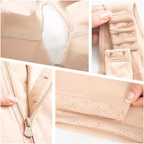 dde4c86b96aa9 Salome 0520 Women Post Surgery Full Body Shaper with Zipper - Import It All