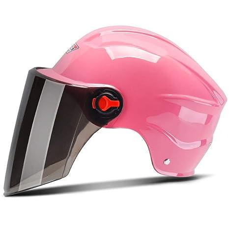 Amazon.es: Casco de motocicleta para hombre y mujer, protección ...