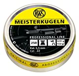 RWS Meisterdugeln .22 Caliber 14.0 G Airgun Pellets