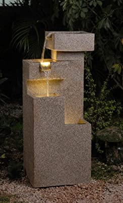 Sand Stone Tiered Fountain