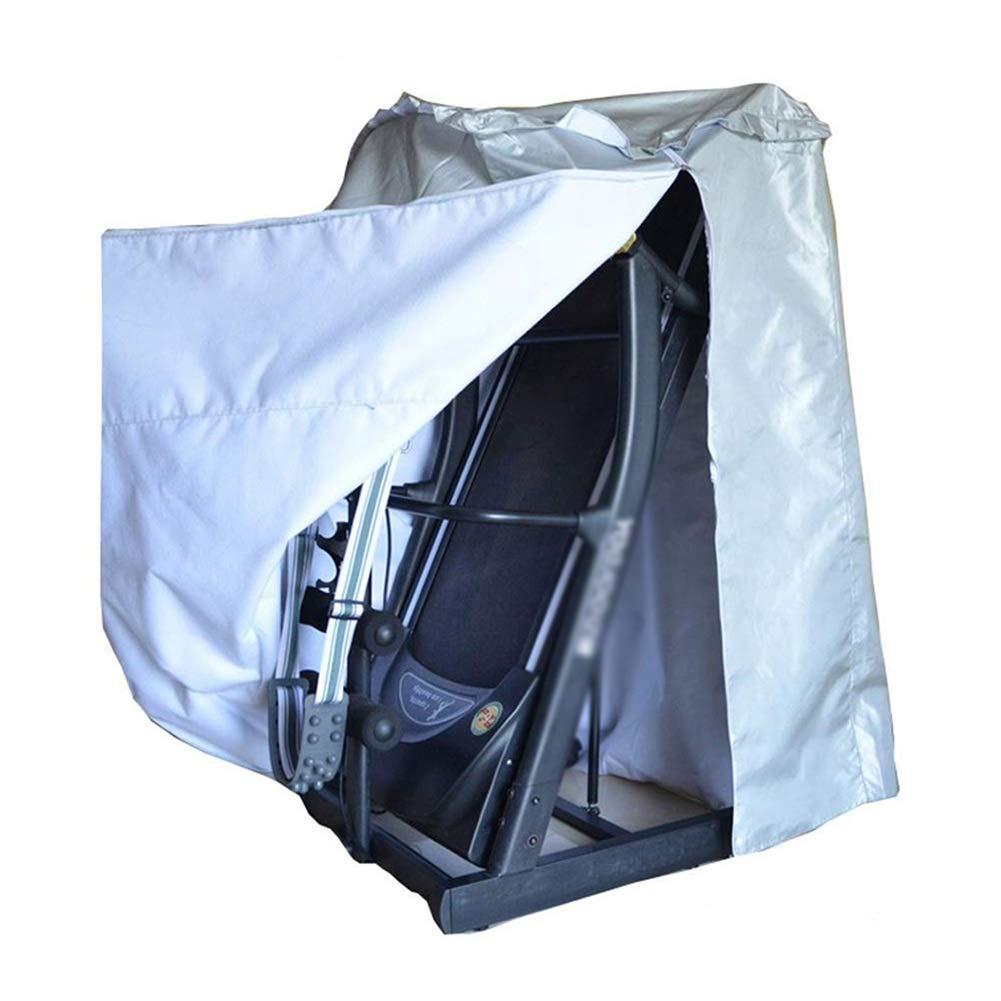 ガーデン家具のカバーコートヤードトレッドミルの保護耐久性のあるジッパーの防塵防水、オックスフォードの布、2つのスタイル、3つのサイズ (色 : Silver B, サイズ さいず : 70x90x150CM) 70x90x150CM Silver B B07QCXRWS8
