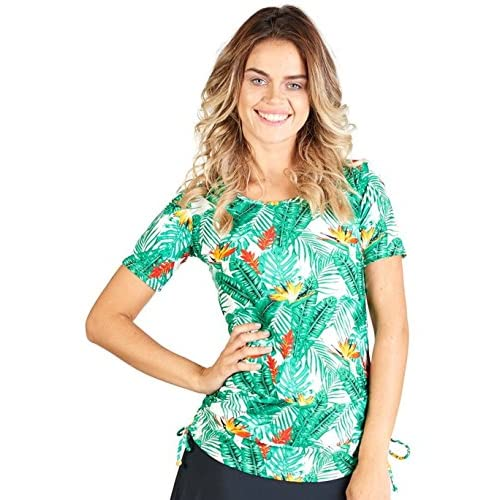 2948e0a719 85%OFF Ella Mae Modest Swimsuit for Women with Short Sleeve Swim Shirt and  Swim