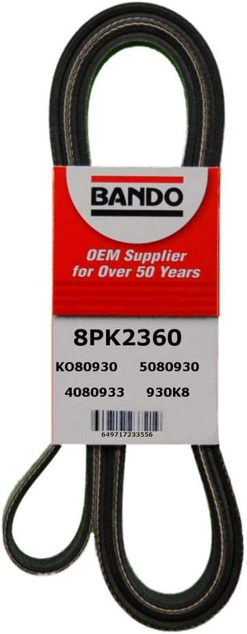 Bando USA 8PK1345 Belts