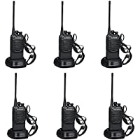 Walkie Talkies 2 Ways Radio Long Range and Reachargeble Baofeng BF-888SA 2 Packs with Earpieces Mic for Adults Trolling Camping Hiking Hunting Travelling