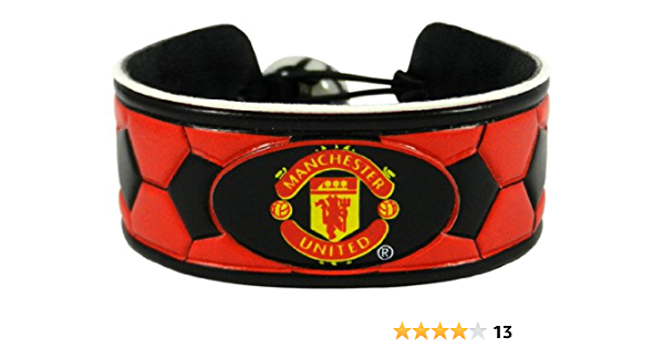 Manchester United Football Soccer EPL Silicone Bracelet Wristband Strap