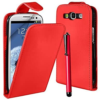 Leather Effect Top Flip Case Gt-s7560 For Samsung Galaxy Trend