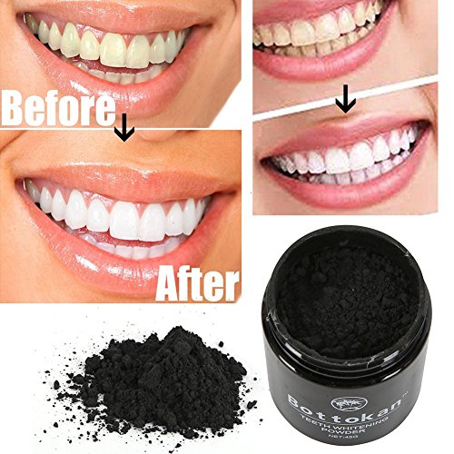 45g Teeth Whitening Cleaning Teeth Charcoal Powder Natural Import