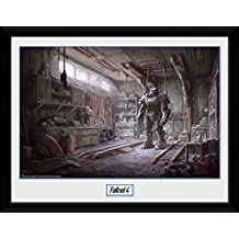 Fallout Framed Collector Poster - 4, Red Rocket Interior (16 x 12 inches)
