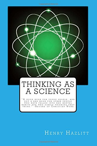 Read Online Thinking as a Science PDF