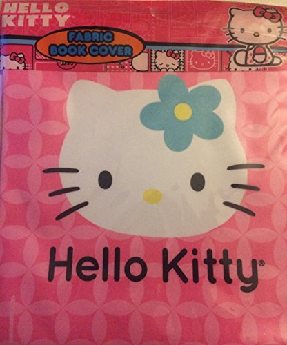 Sanrio Fabric - Hello Kitty Pink Fabric Book Cover