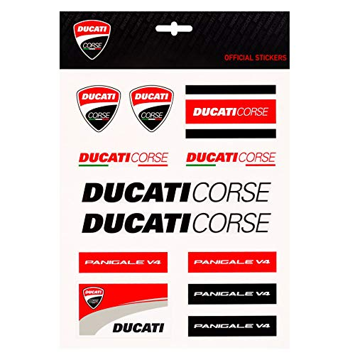 Ducati Racing Team - Whybee 2019 Ducati Corse Racing MotoGP Large Sticker Sheet Decals Official Merchandise
