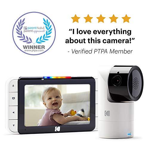 KODAK Cherish C525 Video Baby Monitor with Mobile App review