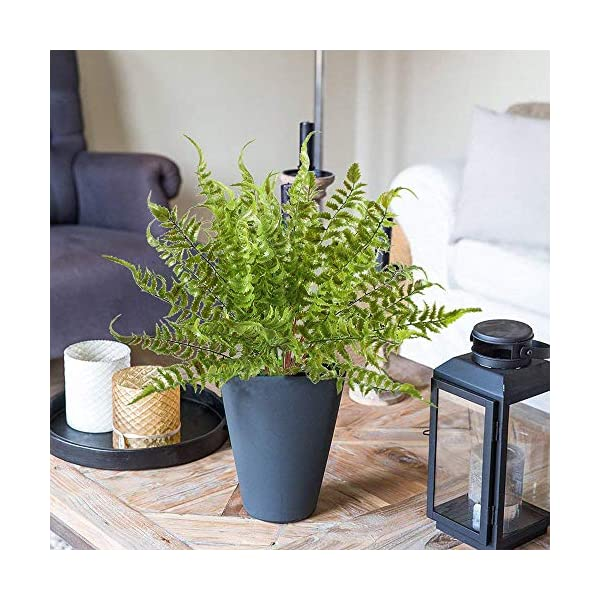 2-PCS-Boston-Fern-Artificial-Green-Plants-Fake-Plastic-Leaves-Waterproof-Shrubs-Mimosa-Venus-Fern-Persian-Grass-for-Outdoor-Home-Table-Kitchen-Office-Decorations