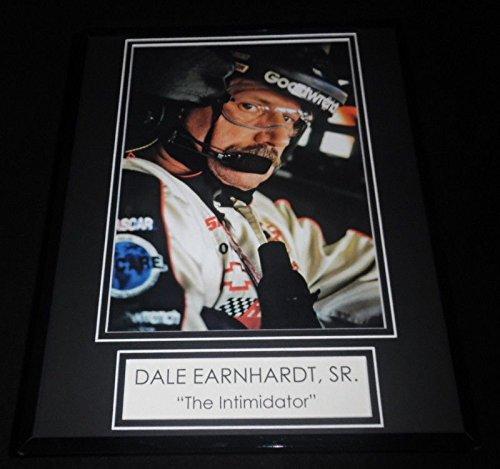Dale Earnhardt Sr The Intimidator Framed 11x14 Photo Display ()