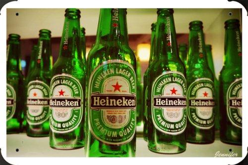 Heineken 2 metal poster cartel hojalata signo 20x30cm ...
