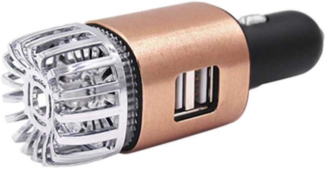 DINAER 2 en 1 Coche Dual USB Purificador iónico de Aire Fresco ...